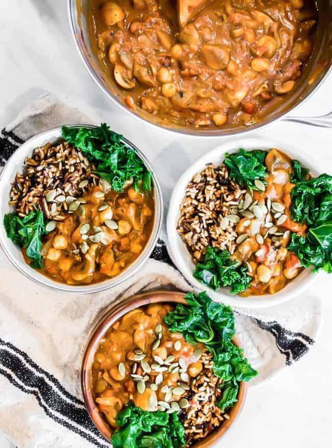 wild rice, mushroom, tarragon soup