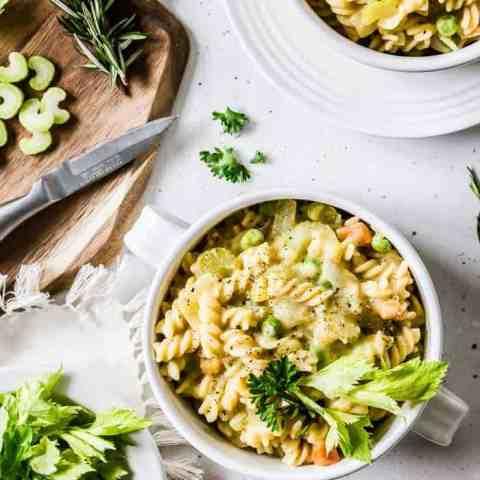 (No) Chicken Noodle Stew