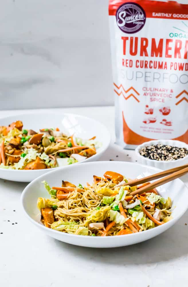 red curry vegetable mei fun  healthy little vittles