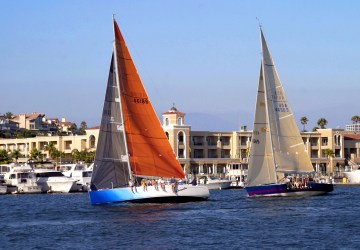 Sailing Boats, Balboa Bay, Healthy Living + Travel