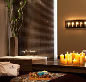 Treatment room at eforea: spa at Hilton Suites Toronto/Markham