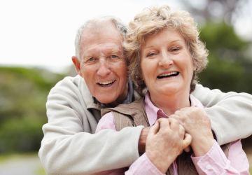Happy Senior Couple, Healthy Living + Travel