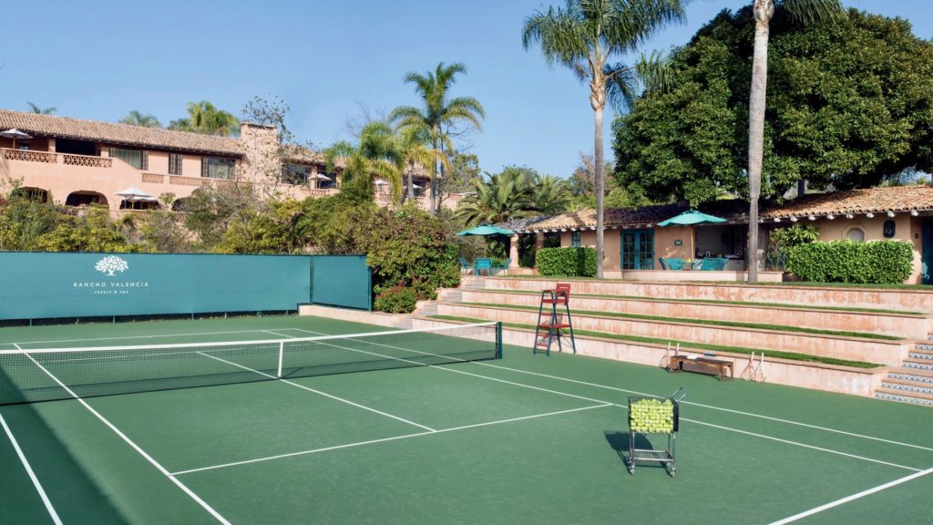 Rancho Valencia Tennis, Healthy Living + Travel