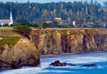 Mendocino, California, Healthy Living + Travel