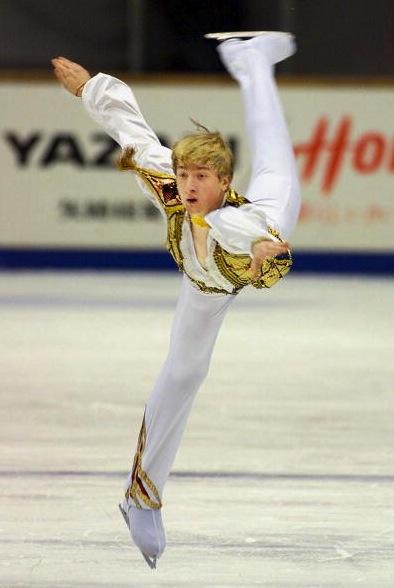 Evgeni Pluschenlo childhood first medal