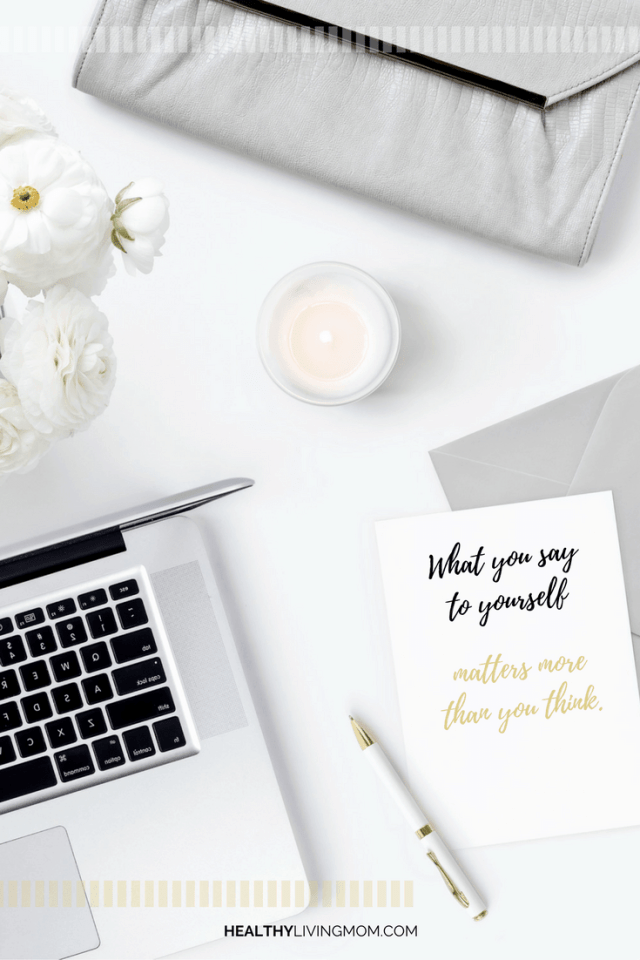 Ever catch yourself saying—I can't or I'm not? What you say to yourself matters—the right words become the dash that moves you from surviving—> to thriving.