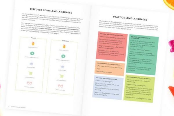 Fruitful Friendships Workbook | Cultivate What Matters | PowerSheets Accessories