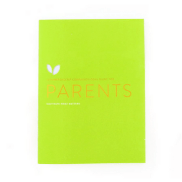 Goal Guide for Parents | Cultivate What Matters | Goal Planning