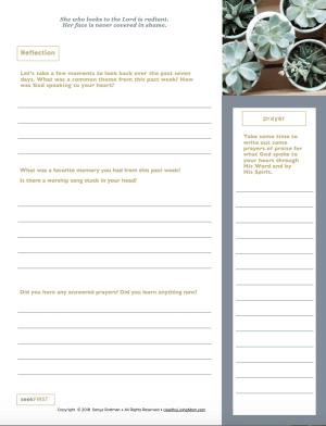 seekFIRST Devotional Journal for Inductive Bible Study | HealthyLivingMom.com