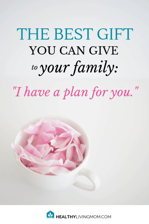 I have a plan for you. Plans to prosper you, not to harm you. God spoke these words to you—what if you did the same for your family? #ihaveaplanforyou #momlife