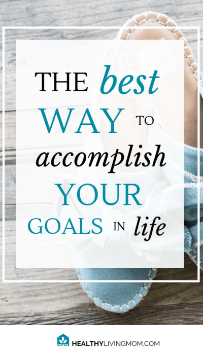 As you seek to accomplish goals in your life, it seems like everyone has the perfect solution, but there's a better way—the best way to accomplish your goals in life. #goalsinlife