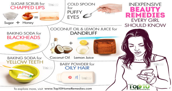 10 Inexpensive Beauty Remedies Every Girl Should Know!