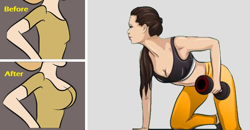 TOP 5 EXERCISES TO LIFT, FIRM AND PERK UP BREASTS!
