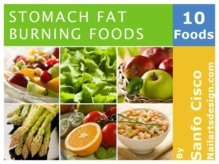 TOP 10 FOODS THAT BURN BELLY FAT!