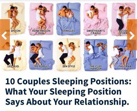 What Your Sleeping Position Says About Your Relationship!!!