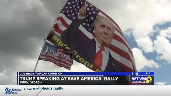 Trump's 'Save America Rally' Set For Central Georgia As Analysts Break Down Implications