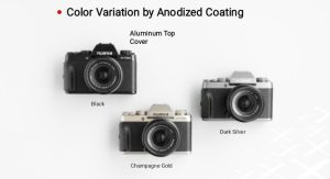 Color Variation by Anodized Coating