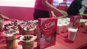 Cooking Demo Kreasi Susu SGM Bunda Generasi Maju Jogja