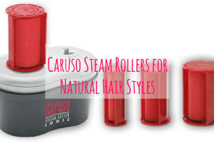 10 Simple Natural Hairstyles with Caruso Steam Rollers (Tutorials Included)