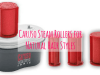 Caruso steam rollers for natural hairstyles plus video tutorials