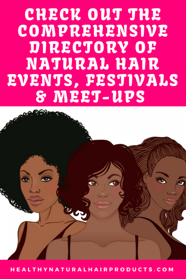Natural Hair Events Directory 2018