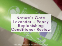Product Review, Nature's Gate Lavender + Peony Replenishing Conditioner