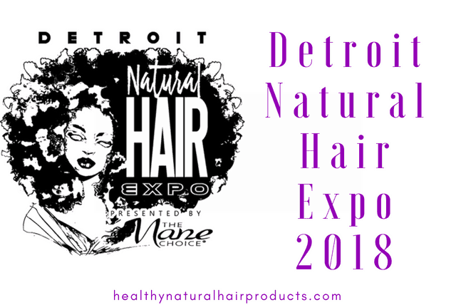 Detroit Natural Hair Expo 2018 by The Mane Choice
