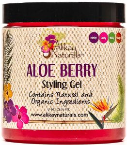 Alikay Naturals Aloe Berry Style Gel, max hydration method