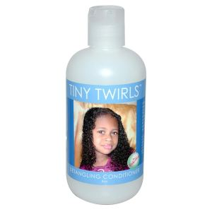 Kinky Curly Tiny Twirls for max hydration method