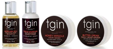 tgin (Thank God It's Natural) Moist Collection, Sample Pack