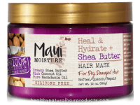 Maui Moisture Heal and Hydrate + Shea Butter Hair Mask Review