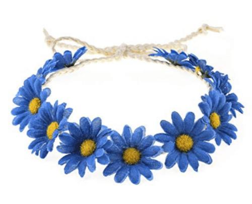 hair accessory Floral Fall Boho Sunflower Crown Hair Wreath