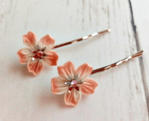 hair accessory Flower bobby pins