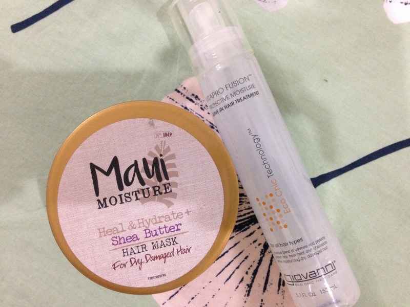 maui shea butter hair mask review