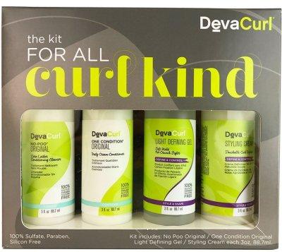 DevaCurl Kit for All Curl Kind