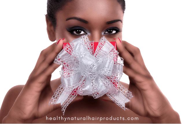 Natural Hair Themed Holiday Gift Ideas