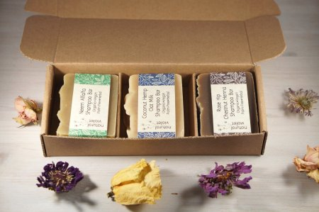natural hair christmas gifts, Shampoo Bar Set