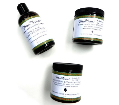 natural hair christmas gifts, Terrene Fusions Natural Hair Care Bundle
