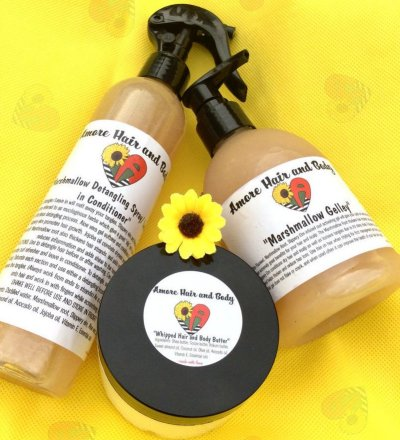 natural hair gifts, Amore Hair and Body Co 3 Step Curl Kit