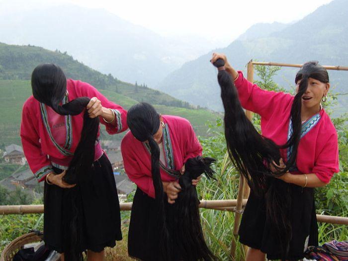 yao women china hair growth secret