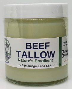 Beef tallow for chebe powder paste