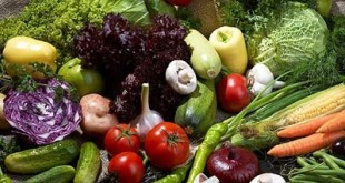 Fresh Raw Vegetable Selection