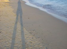 Shadow on a Beach