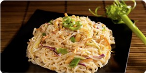 Miracle Noodles Prepared with Veggies