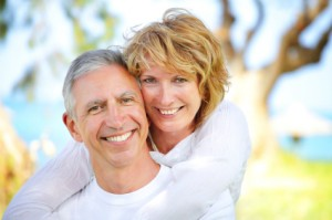 Healthy Couple Smiling