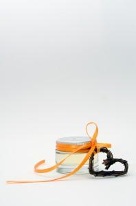 Body Oil in Small Glass Jar