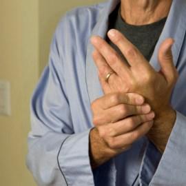 Man With Arthritis in Hands