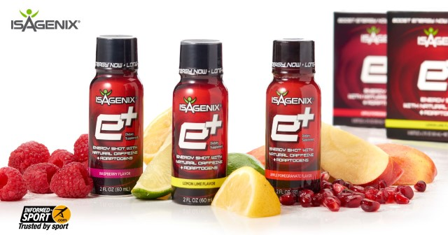 2 NEW Flavors of e+ Energy Shot!