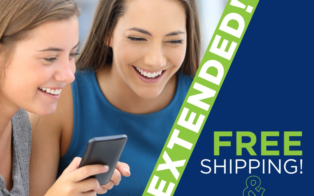 One more week of Free Shipping and Membership! Extended to April 8!