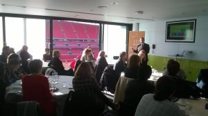 Healthy Performance at Wembley Stadium